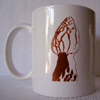 Ceramic Morel Mug