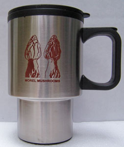 Stainless Steel Morel Mug